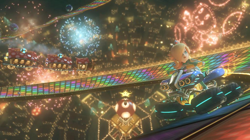 Rainbow Road de MK 64 está de regreso