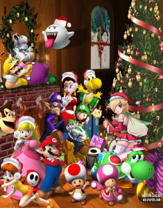 the_super_mario_christmas_party_by_1kamz-d4g3bow