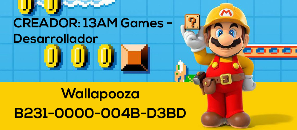 Mario Maker Set S2-N01