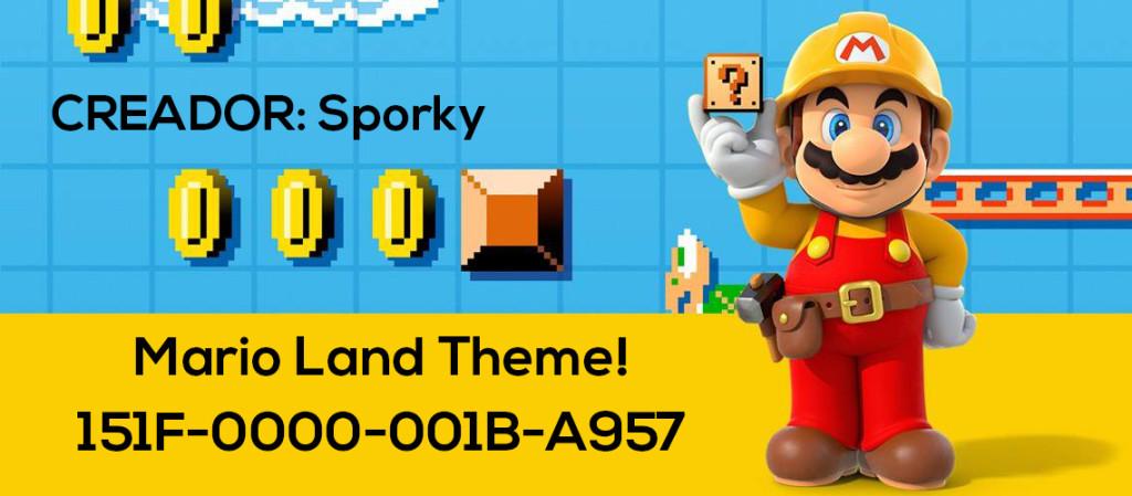 Mario Maker Set S2-N12