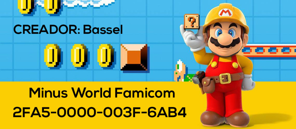 Mario Maker Set S3-N11