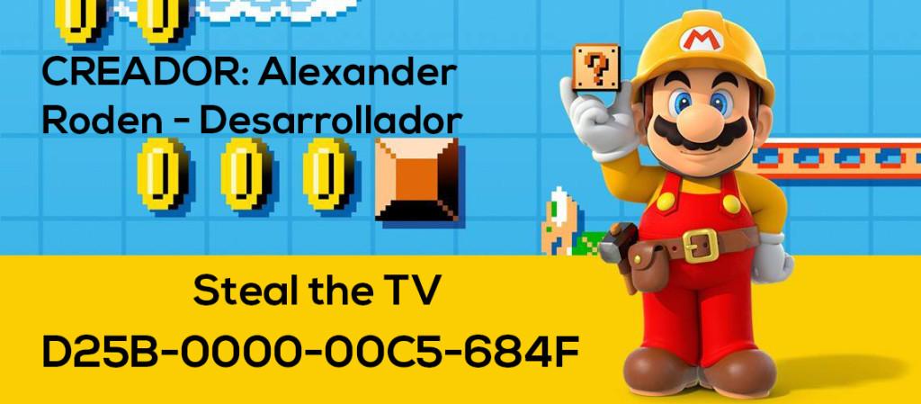 Mario Maker Set S3-N15