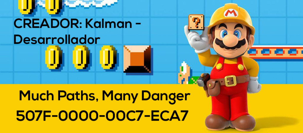 Mario Maker Set S3-N19