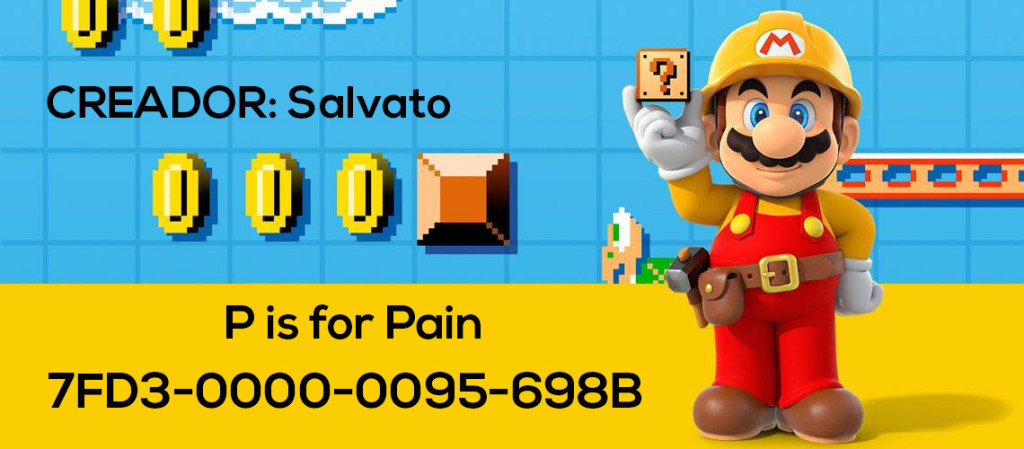 Mario Maker Set S4-N03
