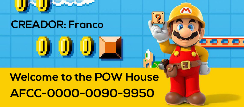 Mario Maker Set S4-N04