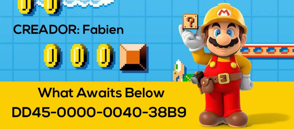 Mario Maker Set S4-N05