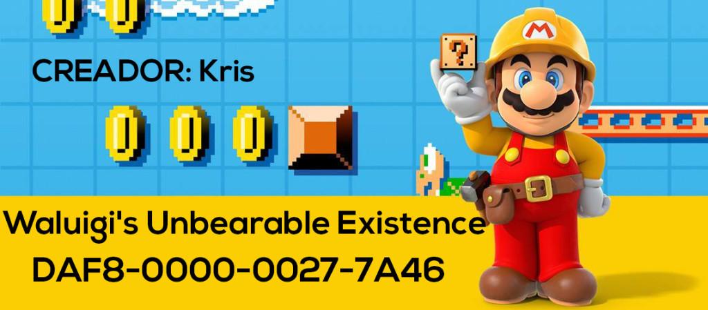 Mario Maker Set S4-N17