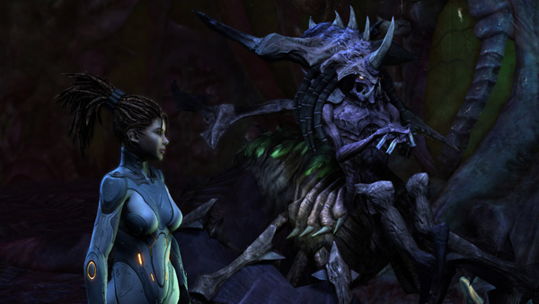 Trailer cinemático de Starcraft: Hearth of the Swarm
