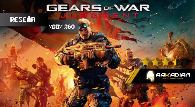 Reseña: Gears of War Judgment