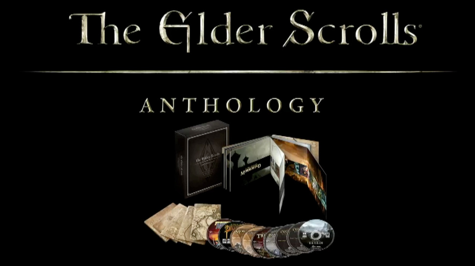"Edición ""Anthologoy"" de The Elder Scrolls"