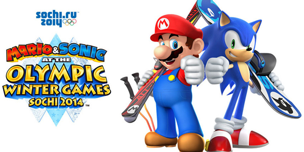 Vídeo gameplay de Mario & Sonic at the Olympic Winter Games Sochi 2014