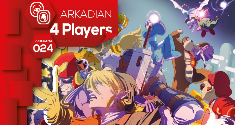 "ARKADIAN 4 Players | Programa 024 ""Especial Smash/Kart/Pokémon"""