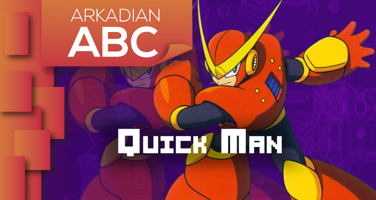 "Arkadian ABC | ""Q"" de Quick Man"