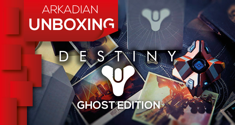 Arkadian UNBOXING | Destiny Ghost Edition