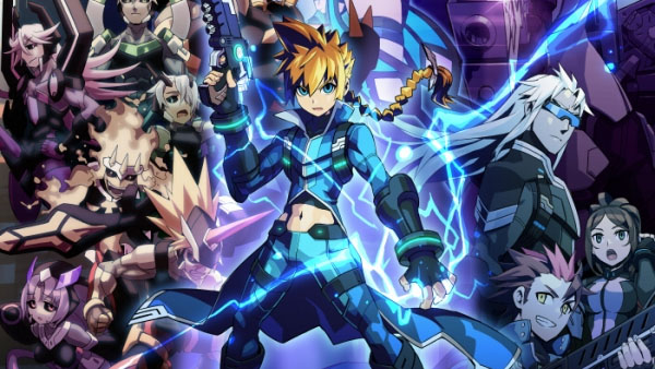 Primer Gameplay de Azure Striker Gunvolt 2