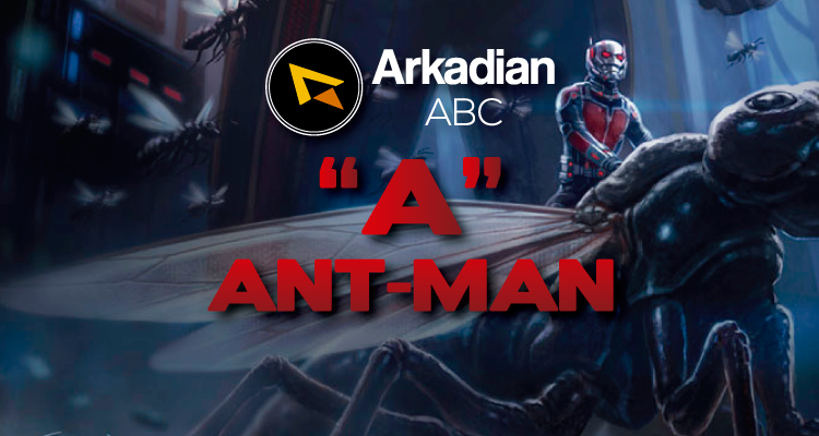 "Arkadian ABC Marvel | ""A"" de Ant-Man (Scott Lang)"
