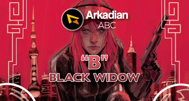 "Arkadian ABC Marvel | ""B"" de Black Widow"