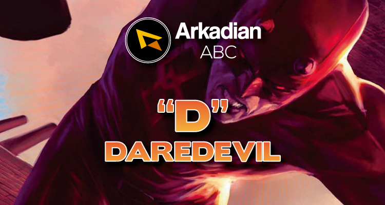 "Arkadian ABC Marvel | ""D"" de Daredevil"