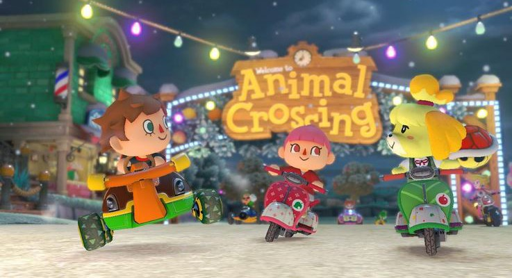 Conoce el DLC de Animal Crossing para Mario Kart 8