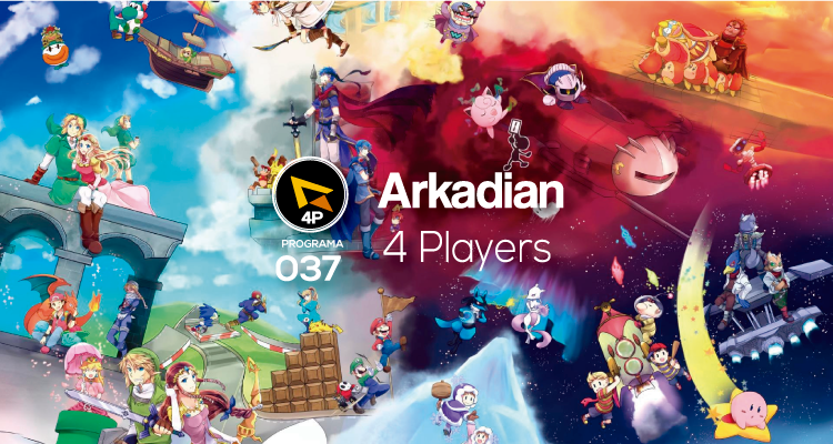 Arkadian 4 Players | Programa 037