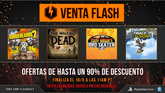 La Venta Flash regresa a PlayStation