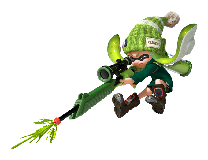 ¡Checa las armas de Splatoon!