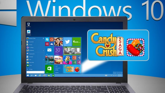 Candy Crush Saga llegará a Windows 10
