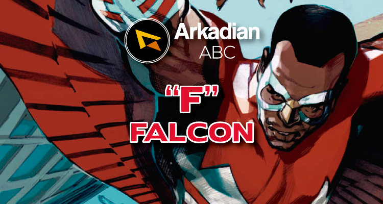 "Arkadian ABC Marvel | ""F"" de Falcon"