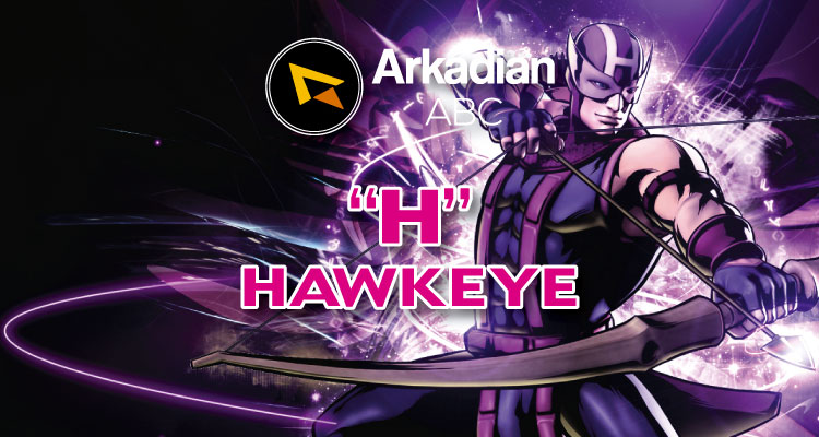 "Arkadian ABC Marvel | ""H"" de Hawkeye"