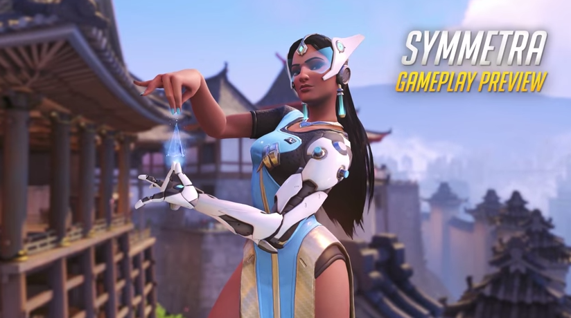 Gameplay de Symmetra en Overwatch