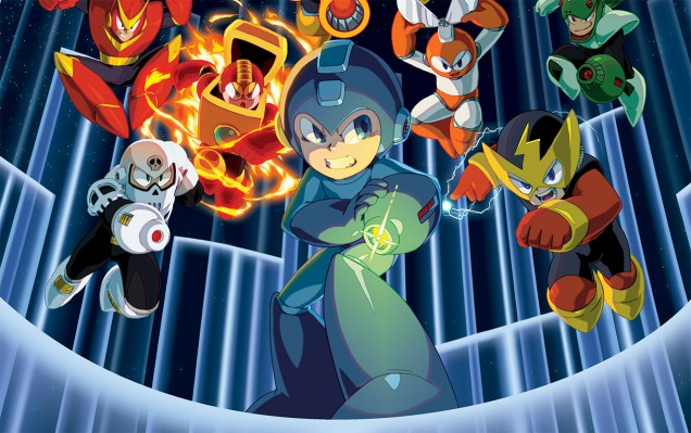 Capcom anuncia la Mega Man Legacy Collection