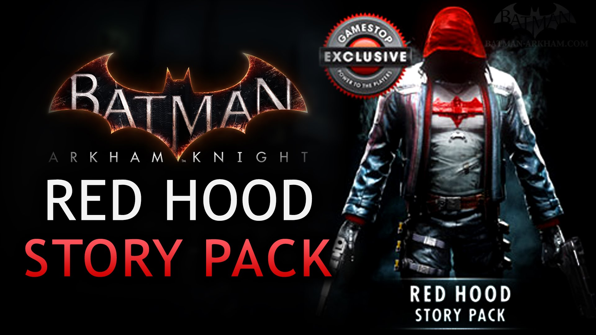 Mira en acción a Red Hood en Batman: Arkham Knight