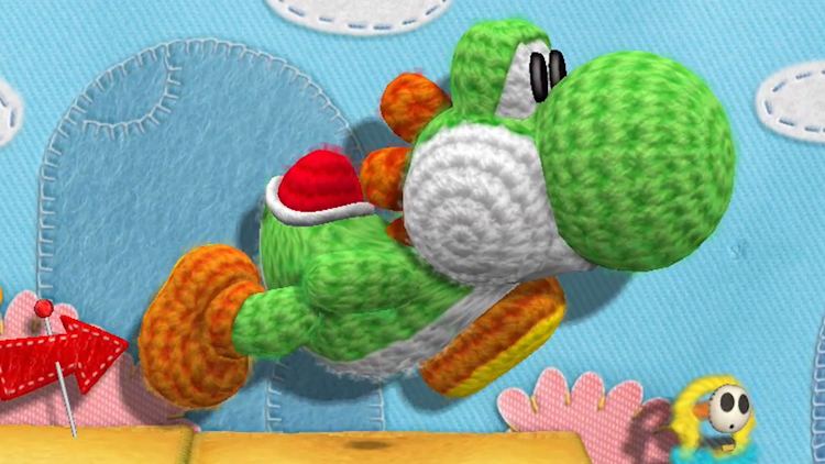 Nuevo vídeo gameplay para Yoshi's Woolly World