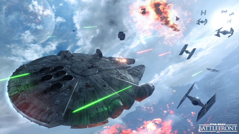 Gameplay Trailer Star Wars Battlefront Fighter Squadron PS4