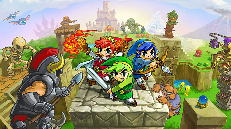 Trailer de Lanzamiento de The Legend of Zelda: Tri Force Heroes
