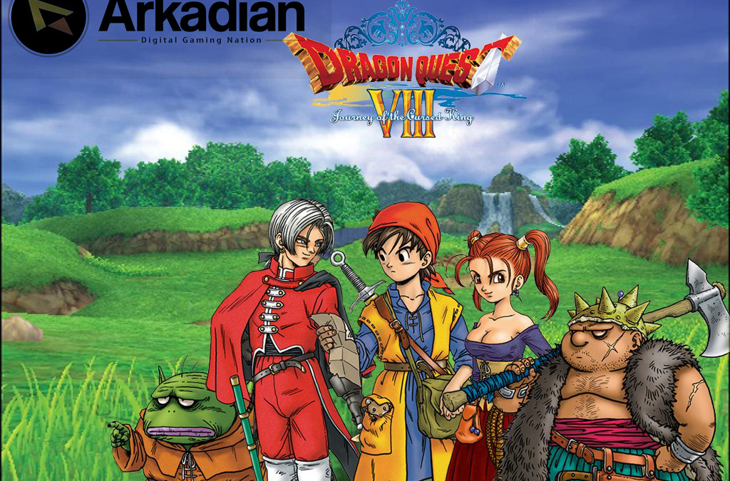 Comparan la intro de Dragon Quest VIII en PS2 y 3DS
