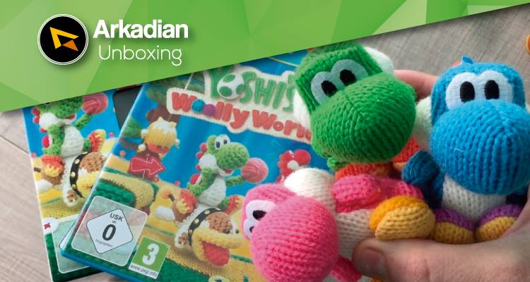 Unboxing | Yoshi's Woolly World