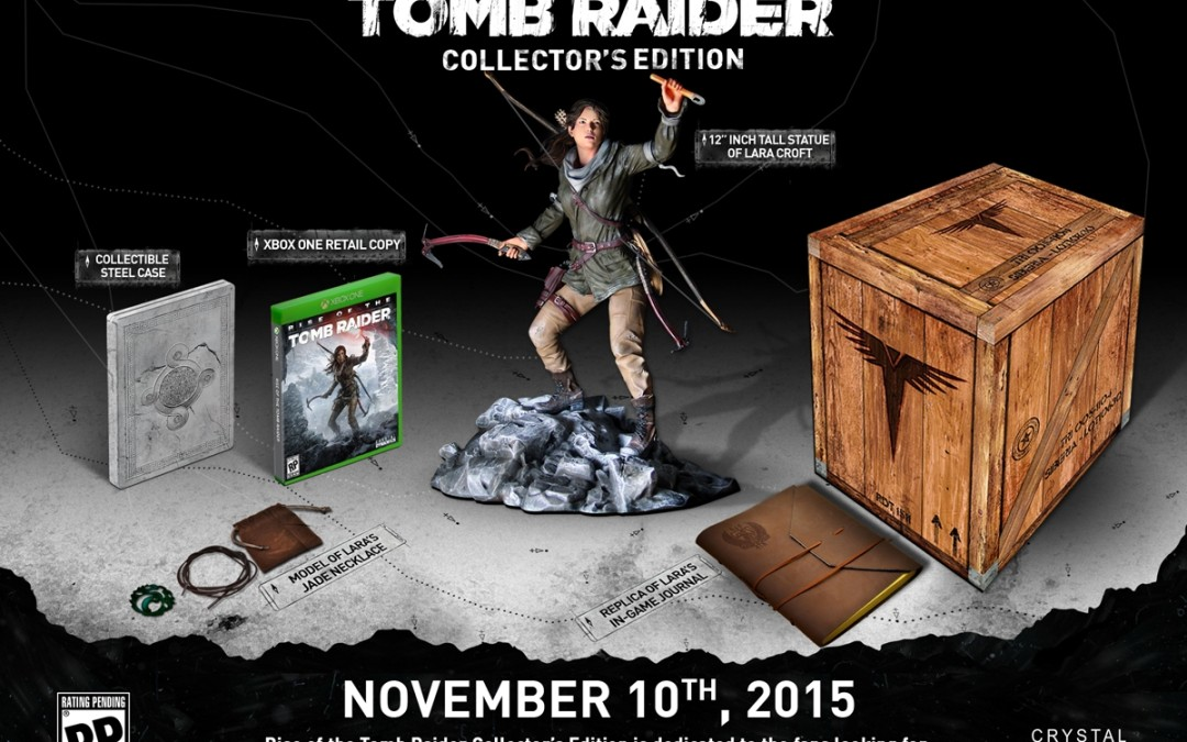 Crystal Dynamics realiza unboxing de Rise of the Tomb Raider Collector's Edition