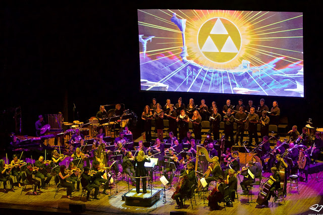 Mira como se grabó el tema principal de The Legend of Zelda Triforce Heroes