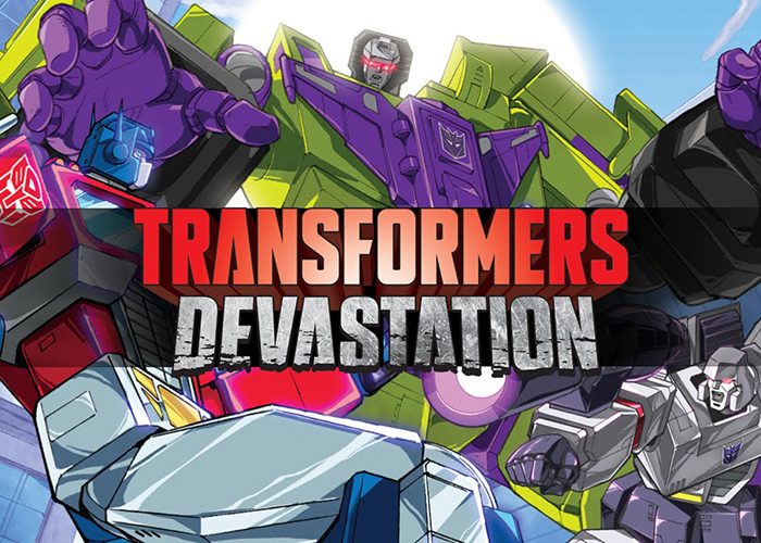 Trailer de Lanzamiento Transformers Devastation |PS4
