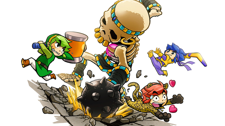 'The Princess's Tell-All' es el nuevo tráiler para TLOZ: Tri Force Heroes