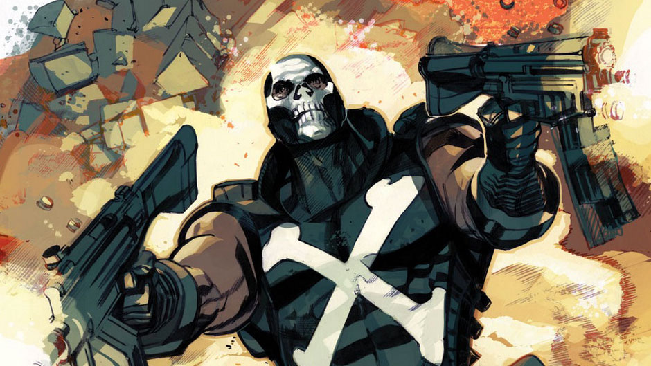 Primer vistazo oficial de Crossbones en Captain America: Civil War