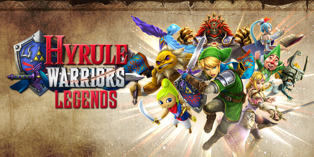 Nintendo presenta a los personajes de Hyrule Warriors Legends