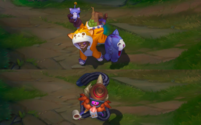 League of Legends | Aspectos, Wards, Iconos y Minions de April Fools