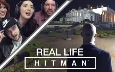 Juegan Hitman de manera interactiva en vida real