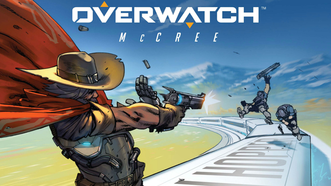 Overwatch – Sigue contando mini historias, ahora en comic con McCree.