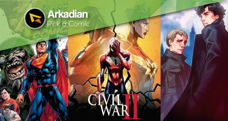 Pick a Comic – Cómics recomendados del 08 de Junio