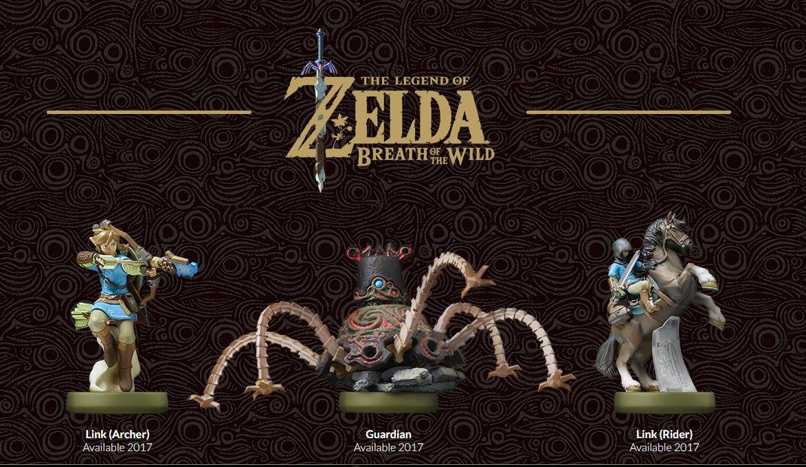 E3 2016 | Legend of Zelda: Breath of the Wild llega con nuevos sets de amiibo