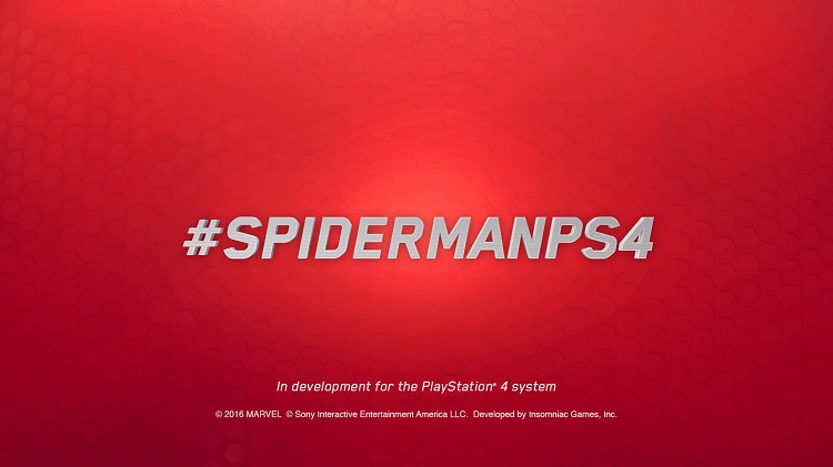 E3 2016 | Spiderman se hace exclusivo de PS4
